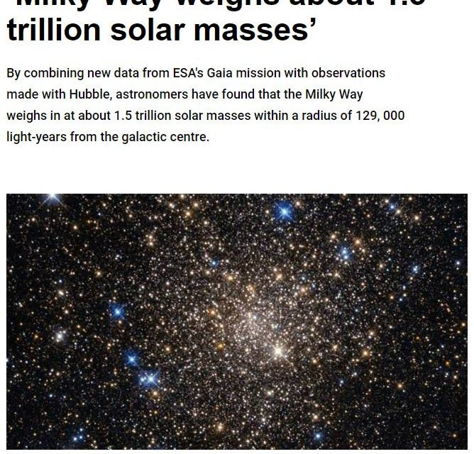"""They Just Weighed the Milky Way""… and Other Ridiculous Claims"